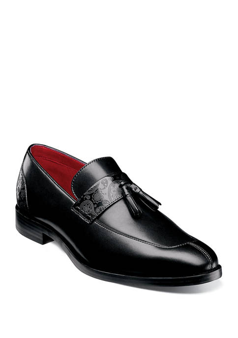 Quinby Moc Toe Tassel Loafers