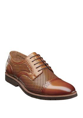 Stacy Adams Mens Ellery Cap Toe Oxford Shoes