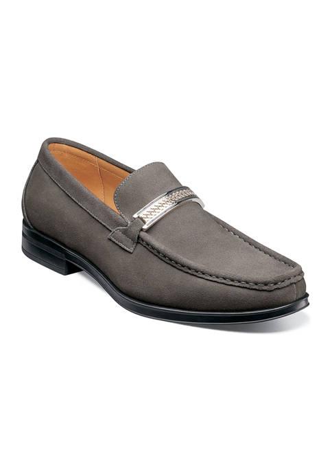 Reginald Moc Toe Bit Slip-On Loafers