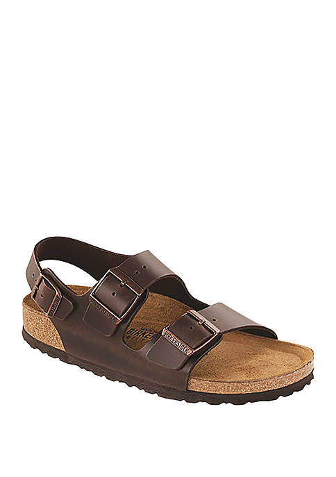 1e38dd851e39e6 Birkenstock Milano SFB Amalfi Brown Sandals