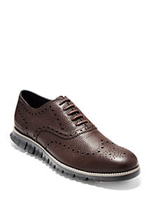 Cole Haan Zerogrand Wingtip Leather Oxford