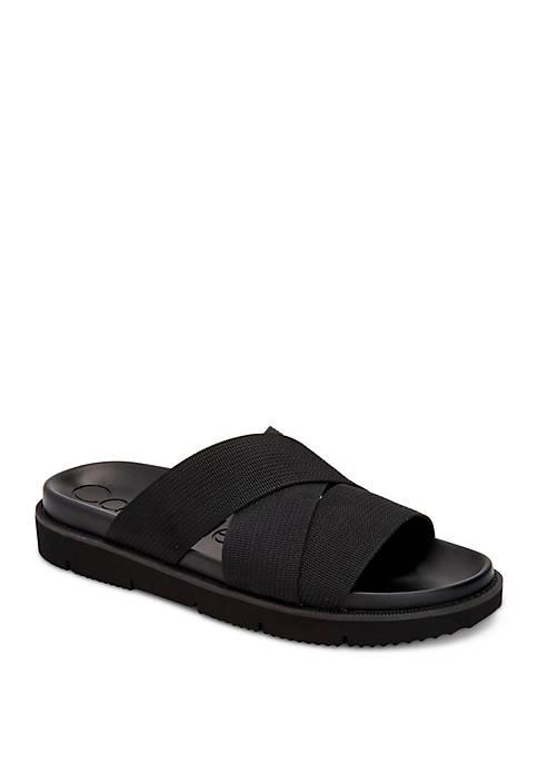 Calvin Klein Rowland Slip On Sandals