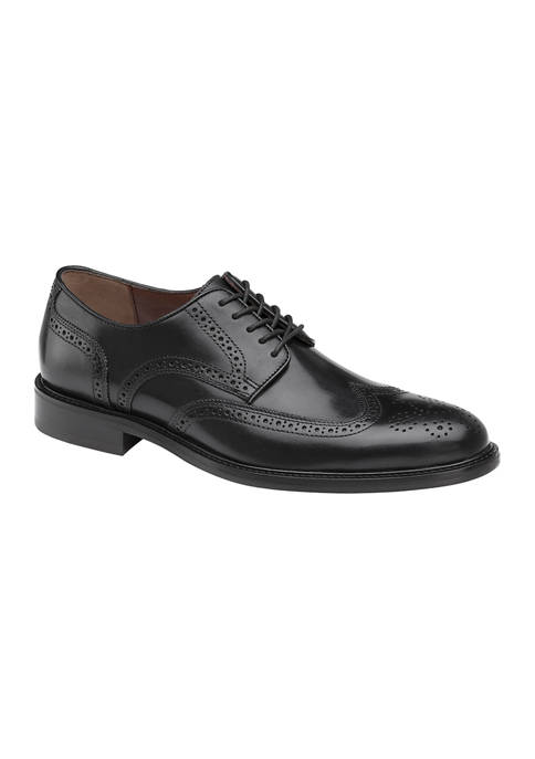 Johnston & Murphy Daley Wing Tip Shoes