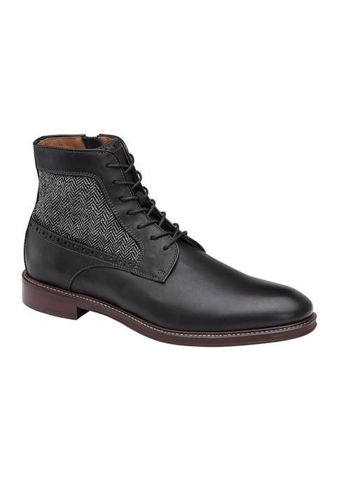 Johnston & Murphy Warner Plain Toe Boots
