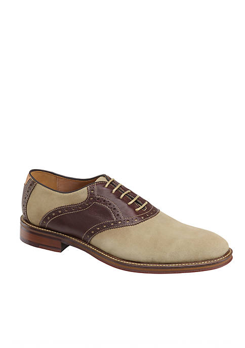Johnston & Murphy Warner Saddle Dress Shoe