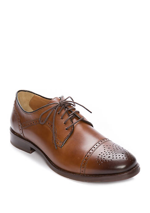 Johnston & Murphy Halford Cap Toe Oxfords