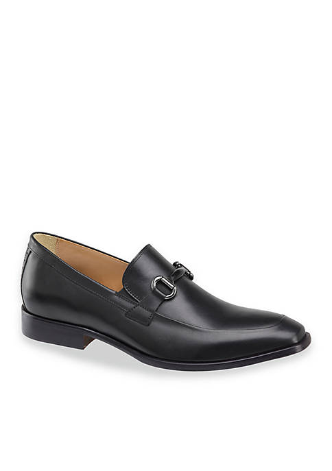 Johnston & Murphy Mens McClain Bit Slip-Ons