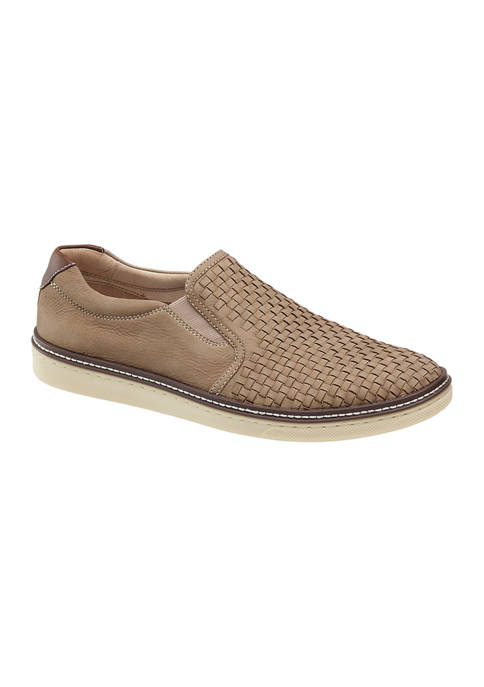 Johnston & Murphy McGuffey Woven Slip On Sneakers