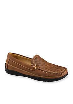 Johnston & Murphy Fowler Woven Moccasin