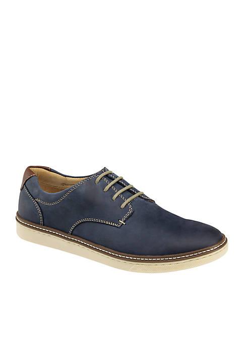 Johnston & Murphy McGuffey Plain-Toe Oxford Shoes