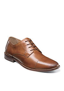 Montinaro Cap Toe Oxford Saddle Tan