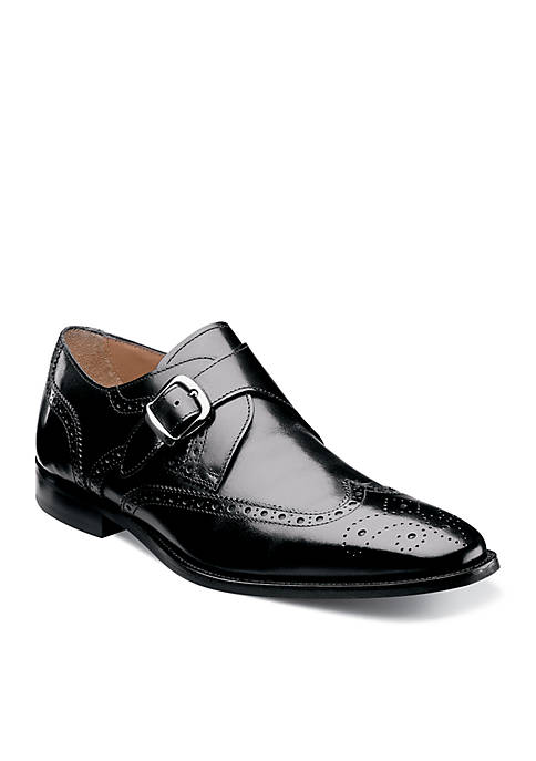 Florsheim Sabato Wingtip Monk Strap Shoe