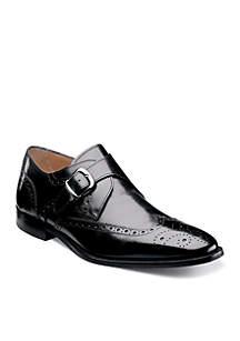 Sabato Wingtip Monk Strap Shoe