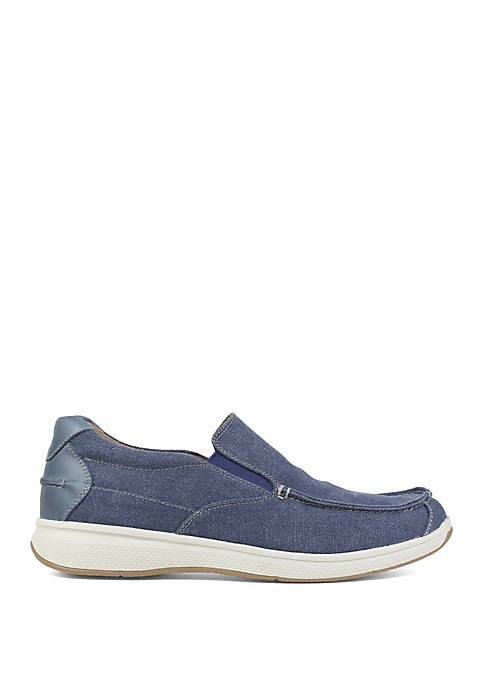 Florsheim Great Lakes Canvas Moccasin Toe Slip On