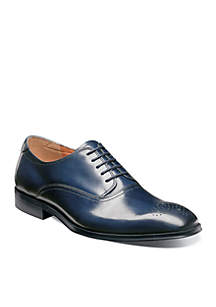 Belfast Perforated Toe Oxford Dress Shoe