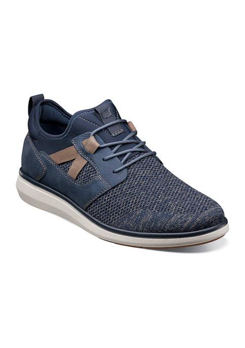 Mens Venture Knit Plain Toe Sneakers