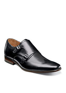 Postino Double Monk Strap Dress Shoes