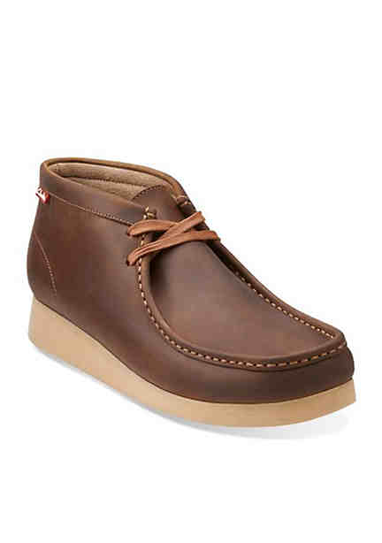 Clarks Mens Stinson Wides Wallabee Boots ...