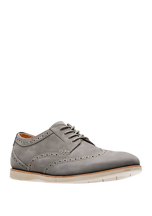 Clarks Raharto Wing Tip Oxfords