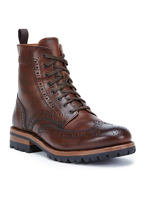 Frye George Lug Brogue Lace Boot