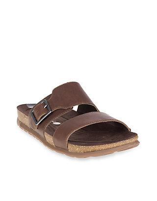9547238ece0c Merrell Downtown Slide Buckle Slip on Sandals