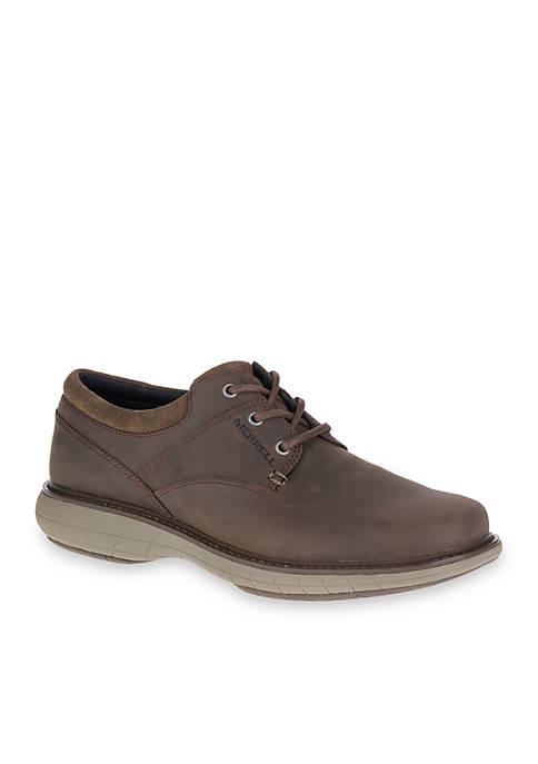 Merrell Mens World Vue Lace-Up Shoe