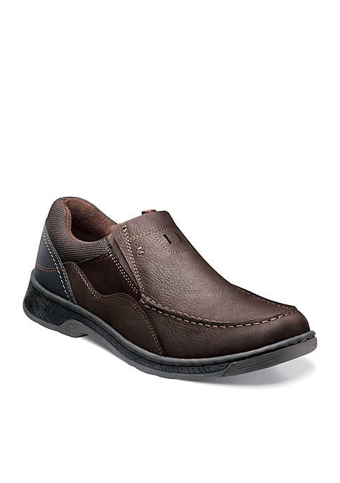 Nunn Bush Brookston Moc Toe Casual Slip-on
