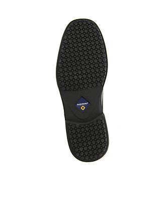 8283aea74be68a ... Nunn Bush Sherman Slip-Resistant Work Oxford - Available in Extended  Sizes - Online Only