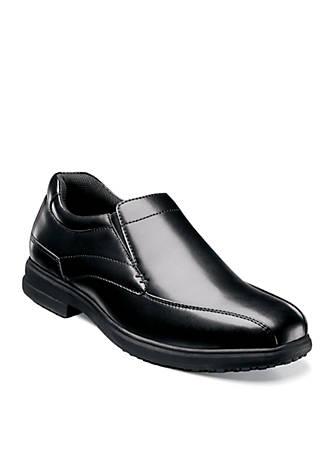 Nunn Bush Sanford Slip-Resistant Work Slip-On - Available in Extended Sizes - Online Only lxSB75e3