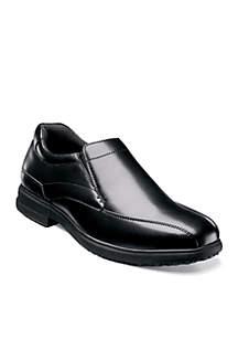 Nunn Bush Sanford Slip-Resistant Work Slip-On - Available in Extended Sizes - Online Only