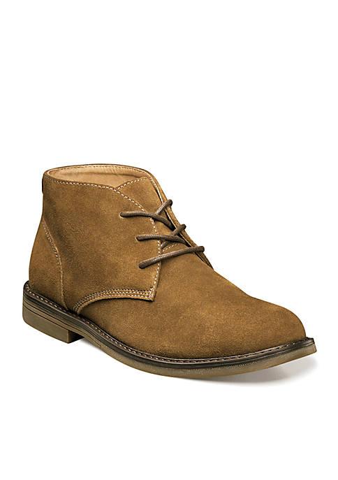 Nunn Bush Lancaster Plain Toe Casual Chukka Boots