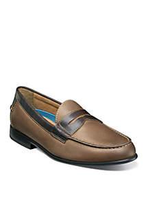 Nunn Bush Drexel Moc Toe Dress Penny Loafers