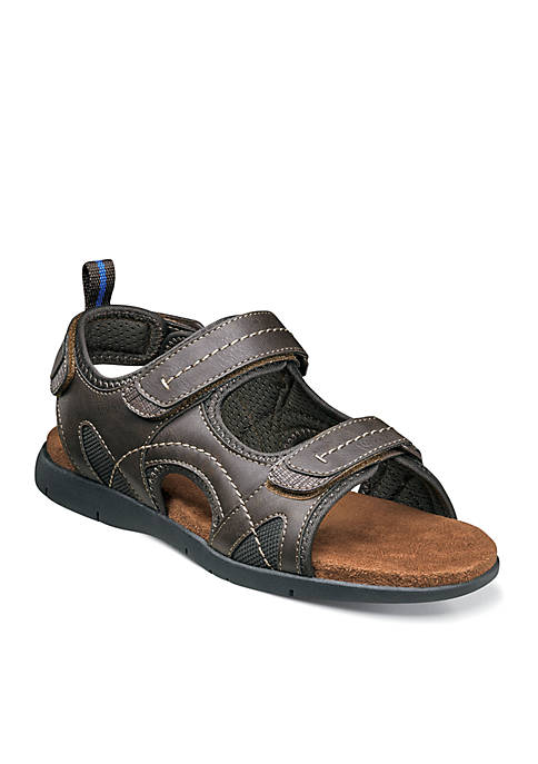 Nunn Bush Rio Grande Three Strap Open Toe