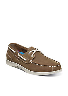Bayside Lites Moc Toe Two-Eye Casual Boat Shoes