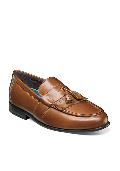 Nunn Bush Denzel MocToe Dress Kiltie Tassel Slip-On