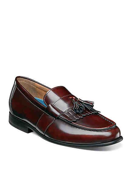 Nunn Bush Denzel Moc Toe Dress Shoe with Kiltie Tassel ...