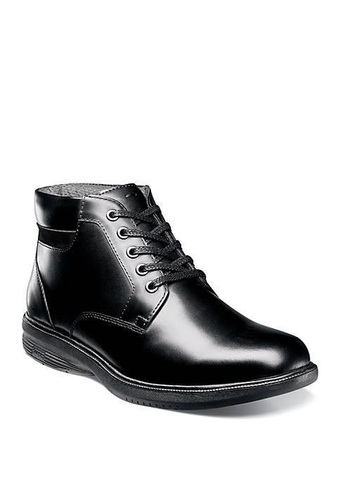 Memphis St. Plain Toe Waterproof Lace Boot
