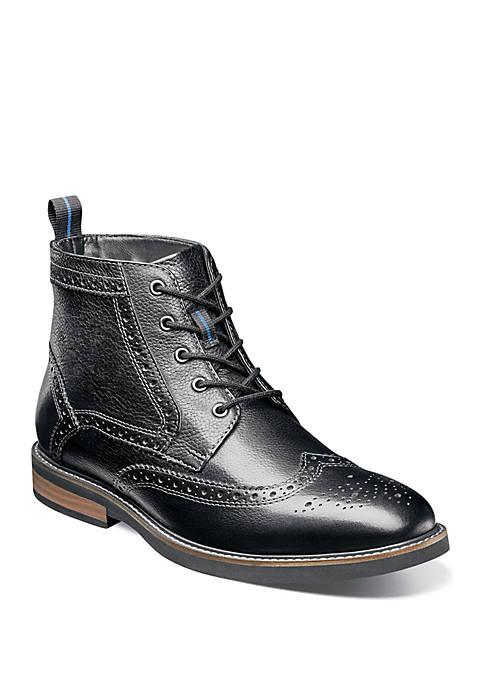 Nunn Bush Odell Wingtip Dress Boot