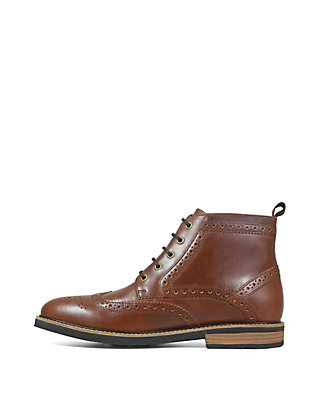 8b030ca3326 Nunn Bush Odell Wingtip Dress Boot