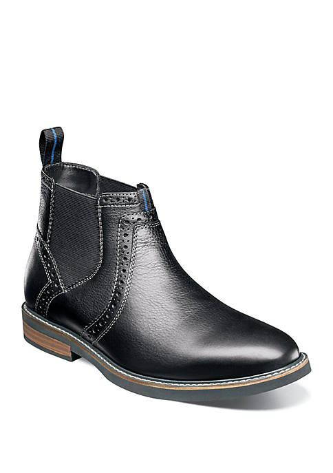 Nunn Bush Otis Plain Toe Dress Chelsea Boot