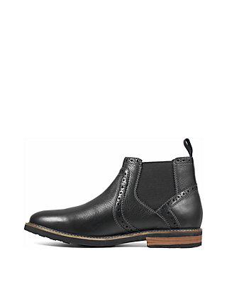 9603c065f034 ... Nunn Bush Otis Plain Toe Dress Chelsea Boot ...