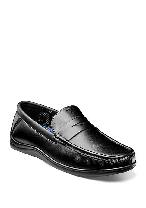 Brentwood Moc Toe Penny Loafers