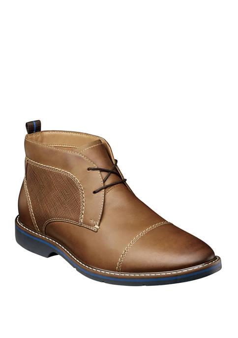 Pasadena Cap Toe Chukka Boots