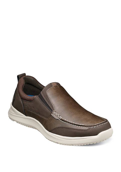 Nunn Bush Conway Moc Toe Slip On Shoes