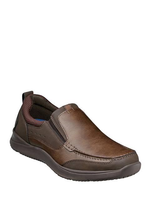 Nunn Bush Conway Moc Toe Slip On Shoes