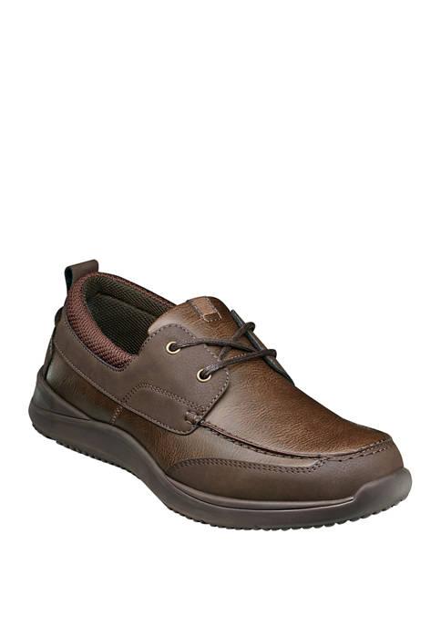 Nunn Bush Conway Moc Toe Boat Shoes