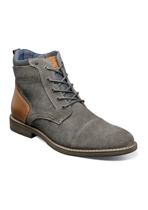 Nunn Bush Fuse Cap Toe Chukka Boots