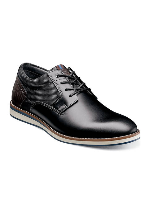 Mens Circuit Plain Toe Casual Oxford Shoes
