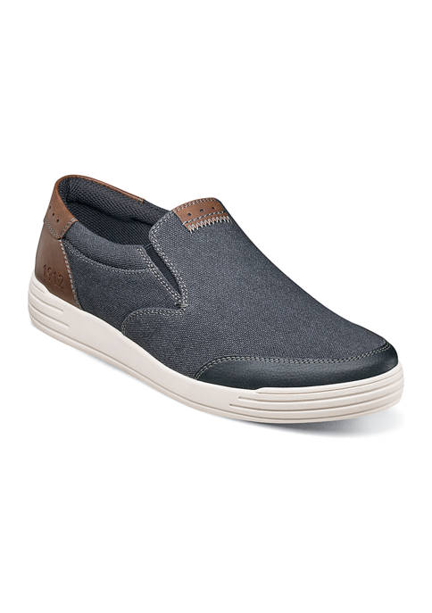 KORE City Walk Canvas Moc Toe Casual Slip On Shoes