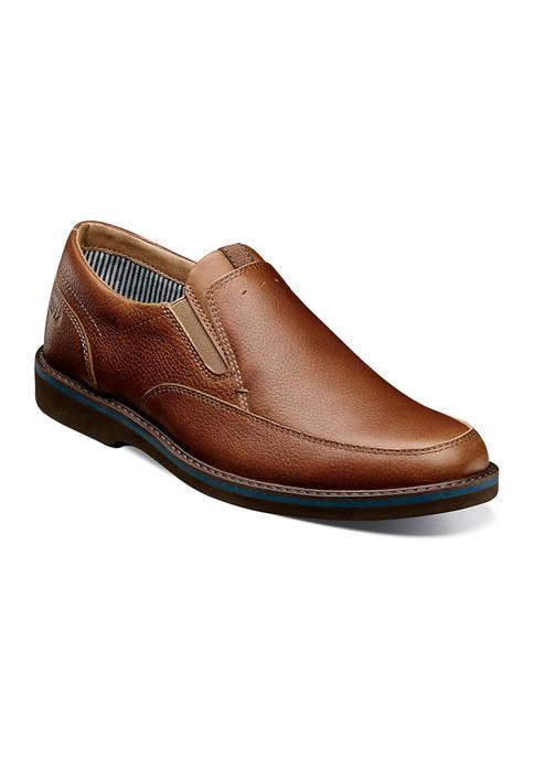 Mens Barklay Moc Toe Casual Slip On Shoes